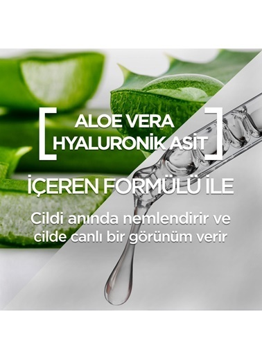 Garnier Garnier Hyaluronik Aloe Temizleyici Kağıt Yüz Maskesi Renksiz